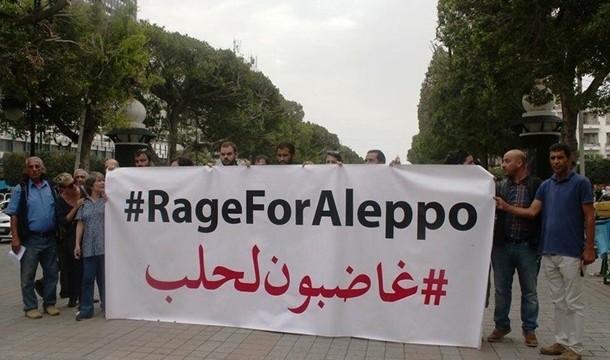 По миру прошли акции против действий РФ в Сирии