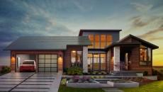 Илон Маск представил солнечные крыши