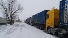В Киев перестали пускать грузовики