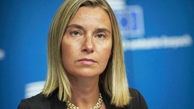Могерини заверяет, что ЕС не изменит позицию по агрессии РФ