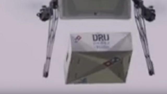 Domino's Pizza и Flirtey тестируют доставку на дронах