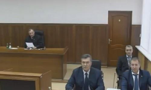 Беглый экс-президент Янукович читал по бумажке, когда он может продолжить видеодопрос