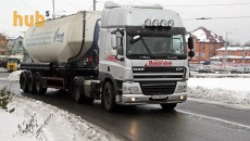 В Киев начали пропускать фуры
