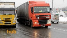 РФ приостановила пропуск фур на границе