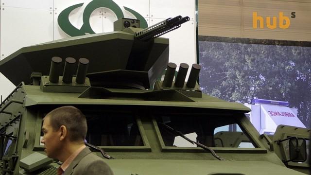 Украина занимает 12 место среди крупнейших экспортеров оружия