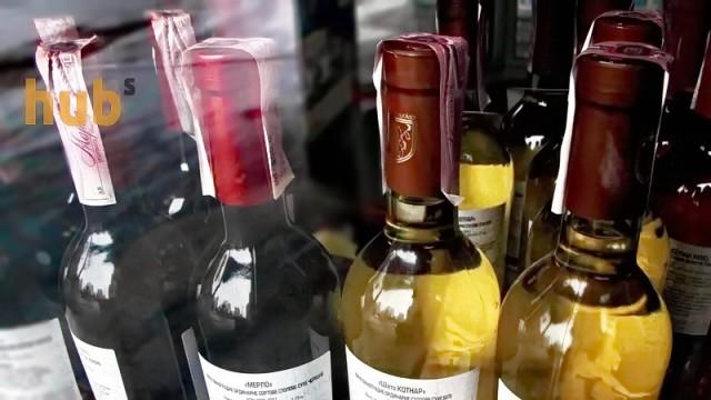 Украина увеличила переработку винограда на виноматериал