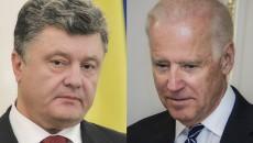 Разговоры Байдена с Порошенко: в Раде создадут ВСК