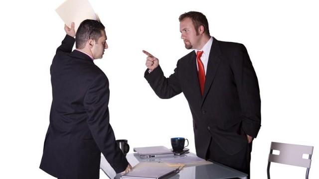 бизнес-конфликт