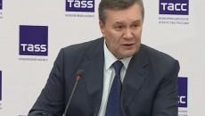 Янукович заявил, что он - не сторонник кровопролития