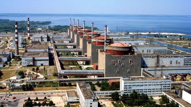 На ЗАЭС отключен 3-й энергоблок