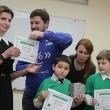 Марина Порошенко получила диплом программиста вместе со школьниками