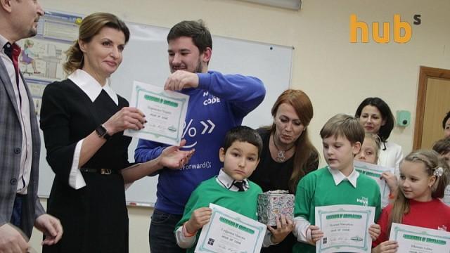 Марина Порошенко пошла учиться программированию вслед за Бараком Обамой и мировыми звездами