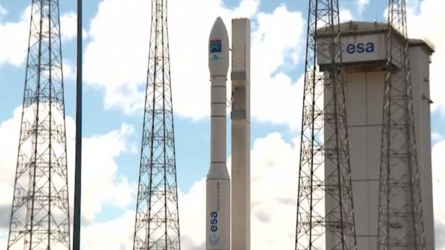 Произведен пуск европейской ракеты с украинским двигателем