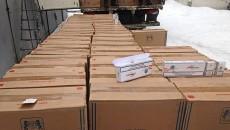 На Сумщине изъята контрабанда сигарет на 10,5 млн грн