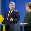 Порошенко обсудил с Меркель перспективы Минских соглашений