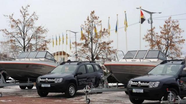 Рыбоохранный патруль в Киеве получил новое оборудование
