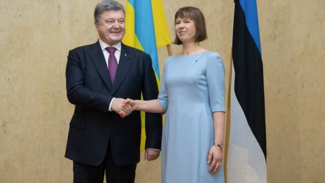 Украина усилит экономическое сотрудничество с Эстонией