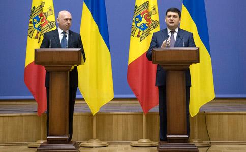 Украина договорилась с Молдовой о «дорожной карте» на год