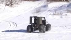 Киевский механик разработал уникальный джип-вездеход (ВИДЕО)