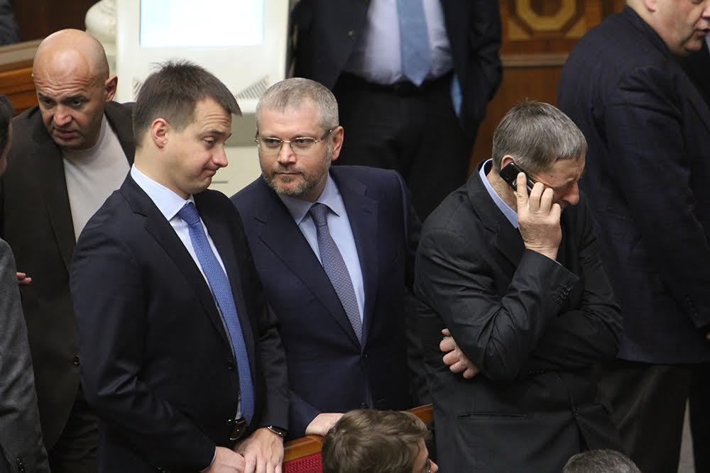 Березенко (БПП) и Вилкул (Оппоблок)