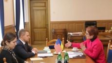 Посол США посетила предприятия Киевщины