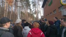 В Ирпене продолжается борьба за 5 гектаров парка (ФОТО)