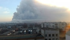Пожар на складах в Балаклее: Минобороны отрапортовало о локализации возгорания