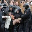 В России и Беларуси прошли акции протеста