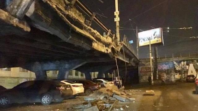 Киевские мосты значительно перегружены