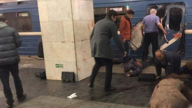 В Санкт-Петербурге взорвали метро