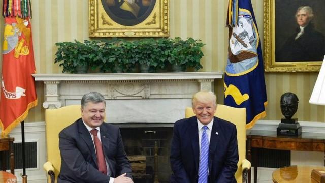Киев посетят представители Трампа, - Порошенко