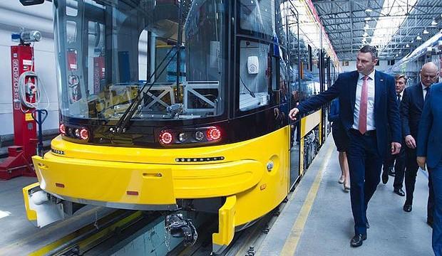 Польская Pesa поставит Киеву 40 трамваев