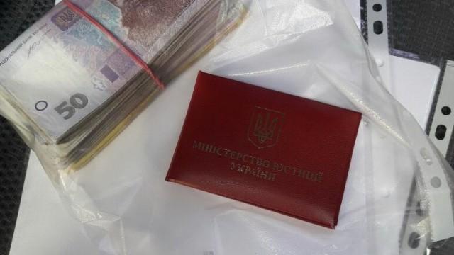В Донецкой области задержан главный госисполнитель
