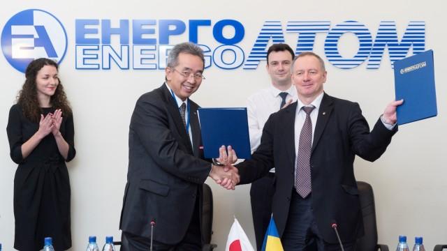 Toshiba займется модернизацией украинских АЭС