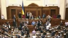 Парламент с дракой принял президентский закон о Донбассе