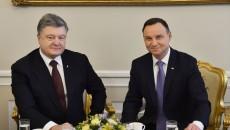Порошенко созывает совещание из-за напряжённости отношений с Польшей