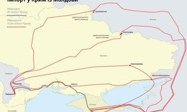 Молдова в обход санкций торгует с оккупированным Крымом