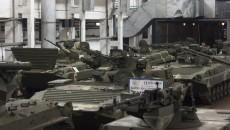 В Житомире закончились испытания модернизированной БМП