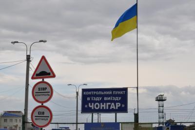 Оккупанты перекрыли админграницу с Крымом