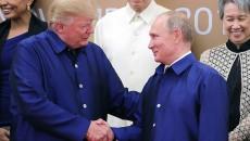 Трамп и Путин обсудили дела на Корейском полуострове