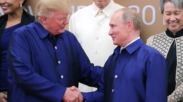 Трамп и Путин могут встретится через месяц, - The Washington Post