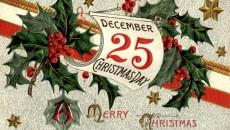 Католическое рождество будет выходным днем