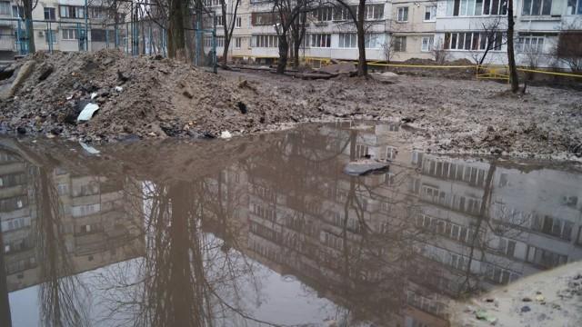 Киевская власть обязала Киевэнерго зарыть все траншеи