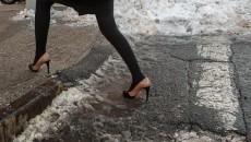 В Киеве начали штрафовать за неубранный снег