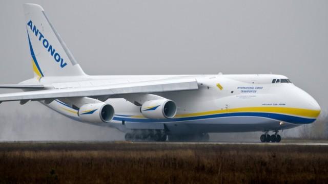 Украинские Ан-124 будут возить европейские спутники