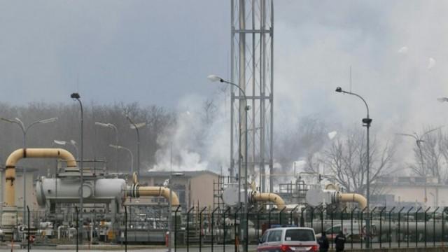 Транзит газа восстанавливается после аварии в Австрии