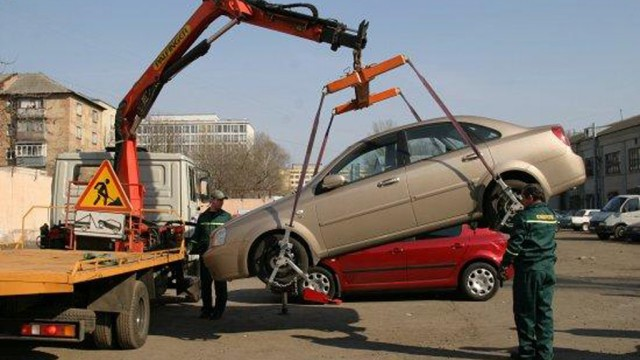 В столице эвакуированное авто можно будет найти через интернет