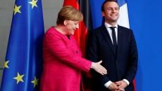 Меркель и Макрон предлагают россиянам вернутся в СЦКК