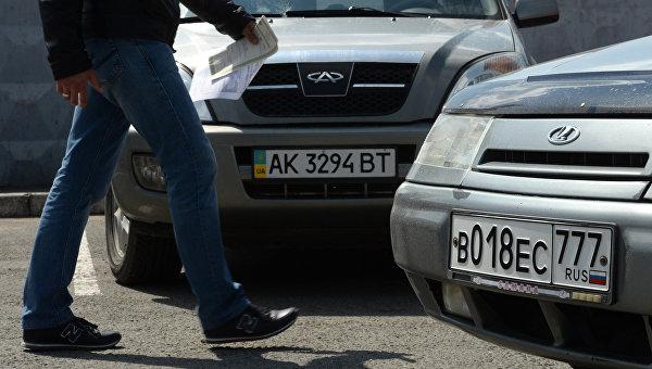 Оккупанты будут штрафовать крымчан за украинские номера