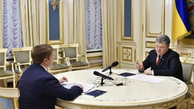 Порошенко позитивно оценил победу Нафтогаза над Газпромом